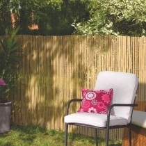 Bamboocane privacy fence 75%