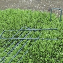 Cleme pentru gazon artificial Fixsol verde (10 buc)