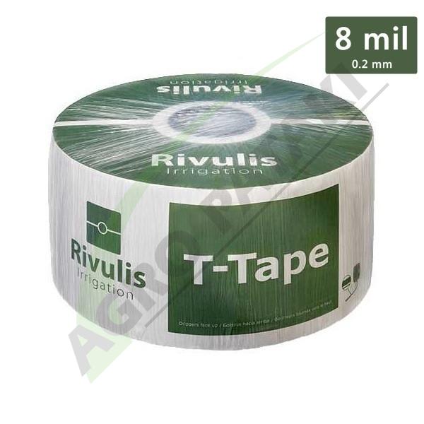 Bandă de picurare T-Tape 8 mil
