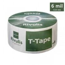 Bandă de picurare T-Tape 6 mil