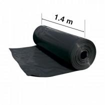 Black mulch UV film 1.4 m wide
