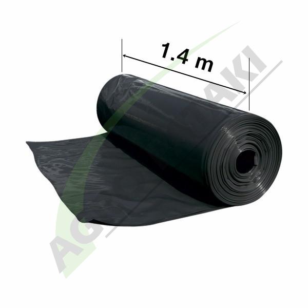 Folie neagră UV 1.4 m lățime