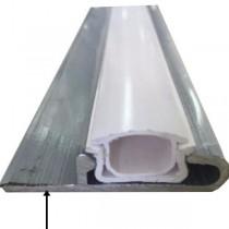 Aluminium profile for foil