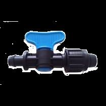 Racord pentru bandă de picurare cu robinet