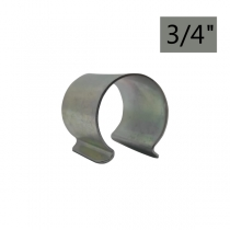 Metal clamps for fixing foil 3/4""