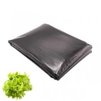 Folie neagră UV găurită pentru salată (25 microni)