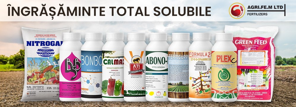 Ingrasaminte total solubile AGRIFEM